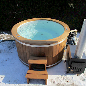 Badefass und frostperioden for Garten pool leeren